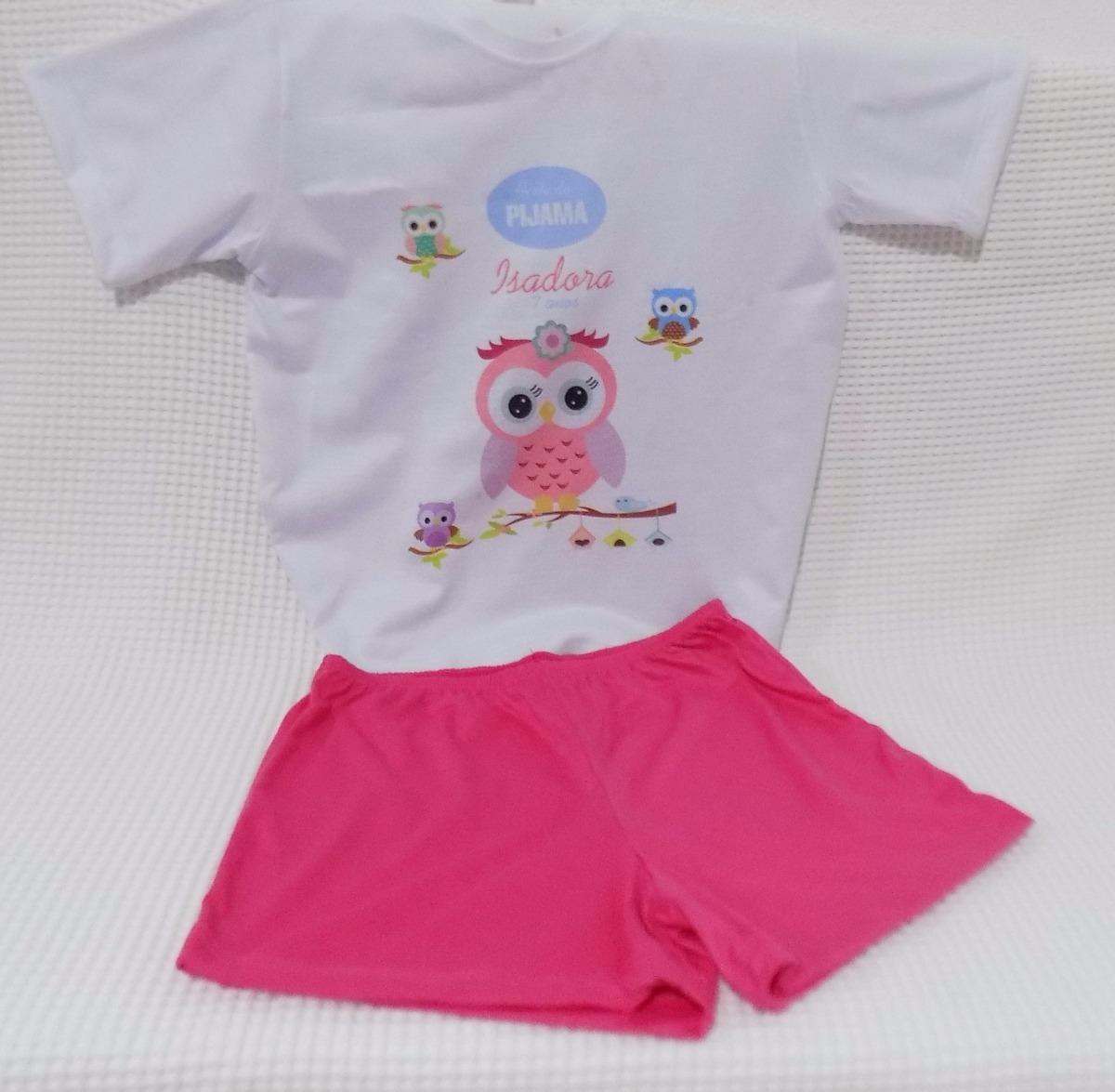 2c219357fd626b Kit Pijama + Chinelo Personalizados