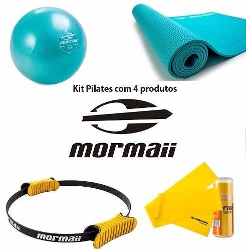 9fcc4ff4e18dc Kit Pilates Com 4 Produtos - Mormaii - Frete Grátis - R  259