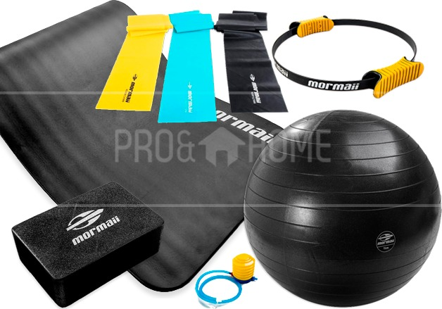 Kit Pilates Yoga Mormaii 7 Pçs Bola Suíça+fitness Circle+ban - R  373,49 em  Mercado Livre 37d03dd258