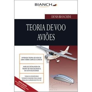 kit piloto privado completo bianch com livro de simulados