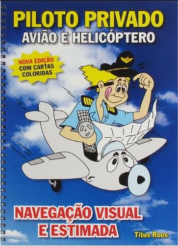 kit piloto privado helicóptero prata + brindes