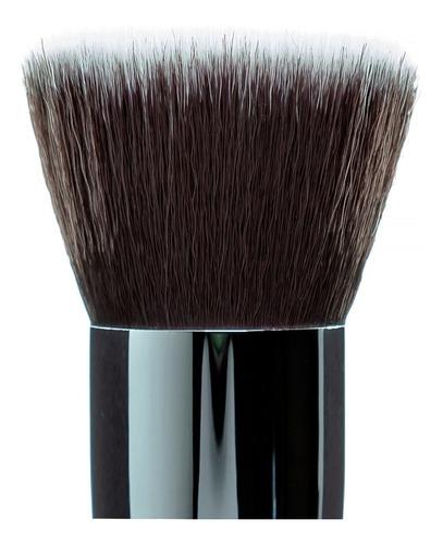 kit pincéis maquiagem base pó blush 3 un