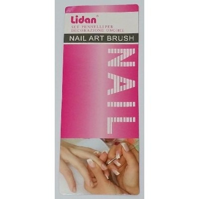 kit pincel decorar unha lidan 15 pinceis manicure acrigel