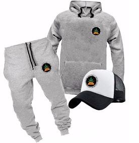 1cce0a066f3 Kit Pineapple Rap Moletom Calça Boné Trucker Blusa Promoção