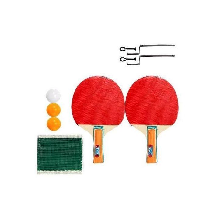 3bb3e5f8a Kit Ping Pong Tenis Mesa 2 Raquetes 3 Bolinhas Rede Esporte - R  24 ...