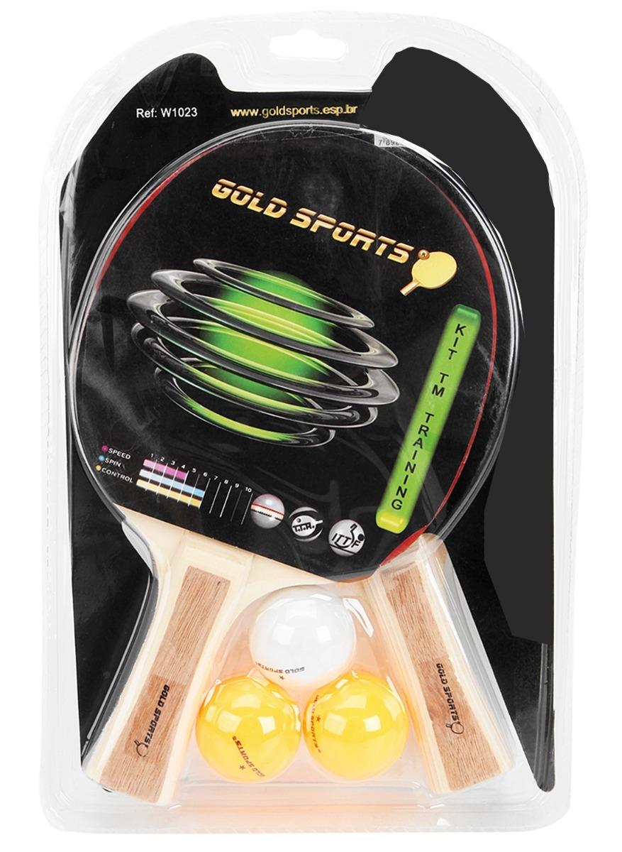 11ab1de72 kit ping pong tênis mesa raquetes rede bolinhas 2 jogadores. Carregando  zoom.