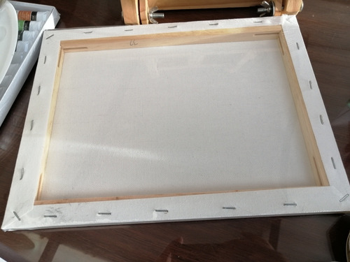 kit pintura acrílica 12ml x10 unds +8 pinceles+paleta +basti