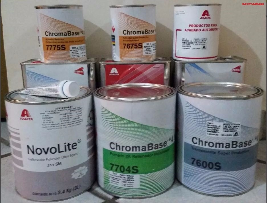 Kit Pintura Chromax Automotriz Dupont Axalta Bs 190