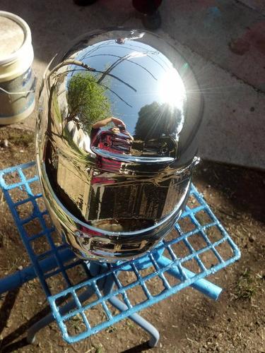 kit pintura cromo al agua ecológica, 100% reflexión