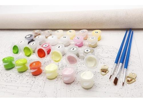 kit pintura en oleo por números diy