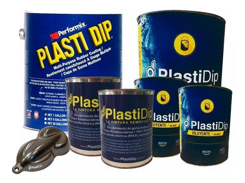 kit pintura removible plasti dip auto chico color grafito
