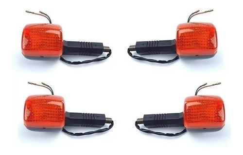 kit pisca (4 peças) dianteira traseira honda cb 500 98 á 05
