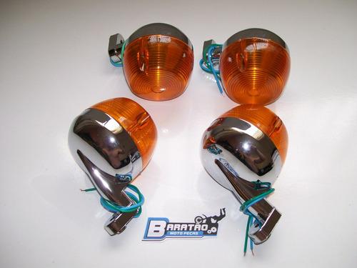 kit pisca plástico (4 peças) cg 125 bolinha até 82 ml turuna