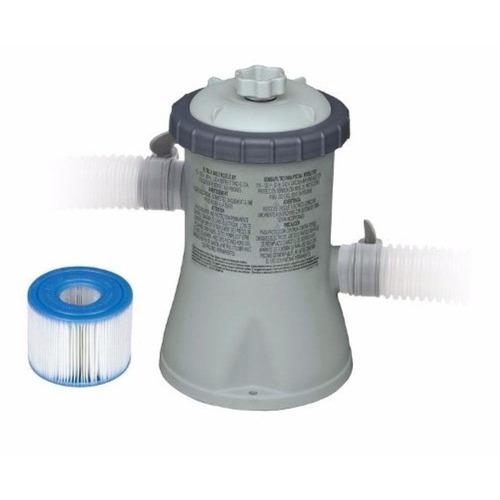 kit piscina inflável intex 9.792l capa bomba filtro