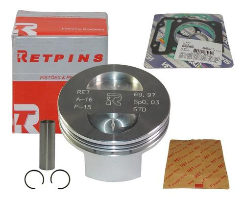 kit pistão anéis crf 230 para 260cc 4,5mm 70mm pino 15