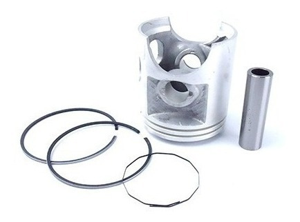 kit pistão + anel segmento yamaha dt 180 1,25mm