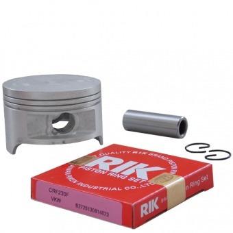 kit pistão c/ anel anéis crf 230 f 0,50 mm kmp premium rik