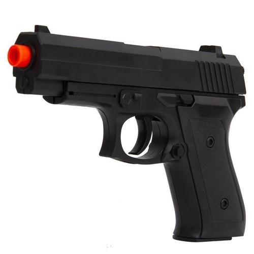 kit pistola de airsoft spring wg-cyma 1918 black + 2.000 bbs