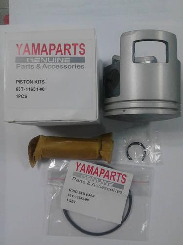 kit piston y anillo motor 40x yamaha