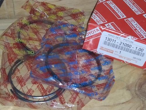 kit pistones anillos toyota yaris 1.3 1.5 040-100 originales