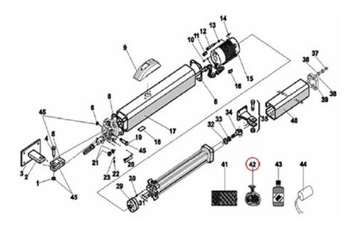 kit pistones hidaulicos faac 400 brazo corto uso rudo porton