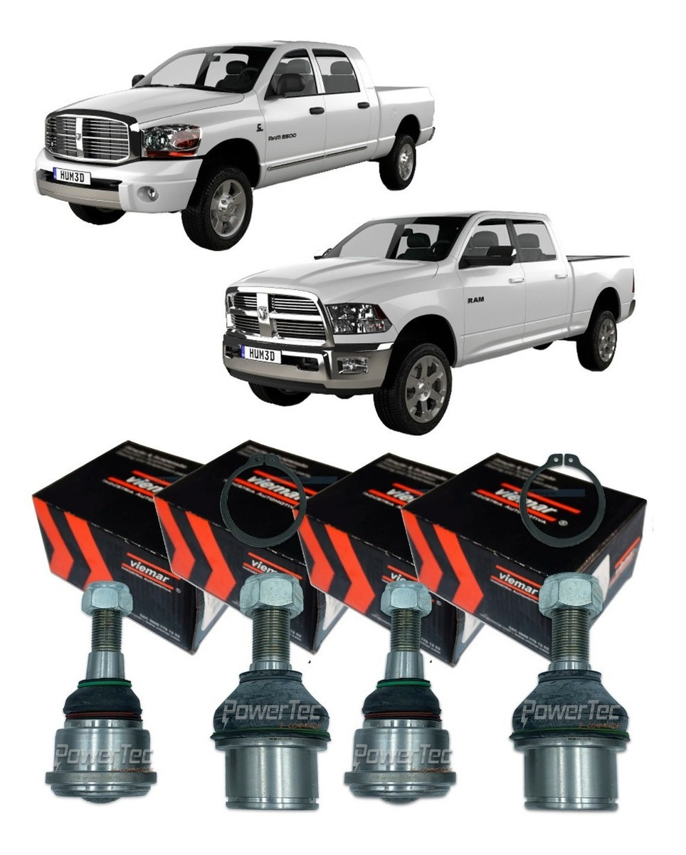 Powertec E Commerce Kit Pivo Dodge Ram 2500 5 9 6 7 2005 Ate 2012 Completo R 989 90