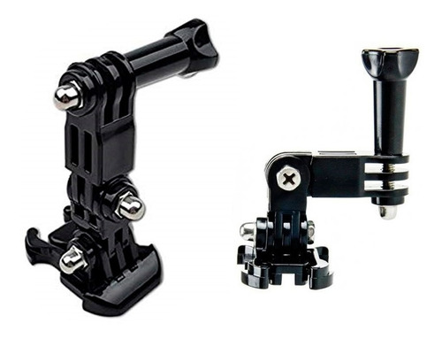 kit pivot arm soporte pivote para gopro + tornillo + base