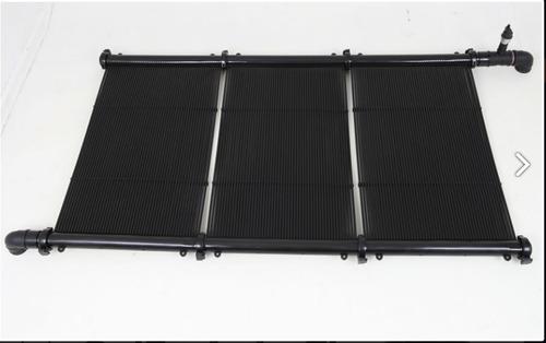 kit placa coletor solar aquecimento de piscinas 18 metros²
