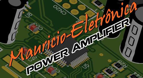 kit placa + componentes + dissipador, amplificador 1000w