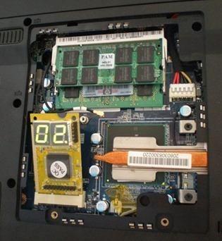 kit placa diagnostico pc+ notebook + testador de fonte atx n