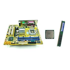 Kit Placa Mãe Asus P5g41t-m Lx3 + Xeon X5450 Quad