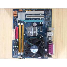 Kit Placa Mãe Gigabyte Ga945gcm-s2c Dualcore E2160