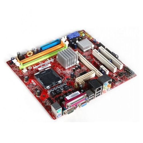 kit placa mãe msi core 2 duo 3.0 ghz + 4gb - completo