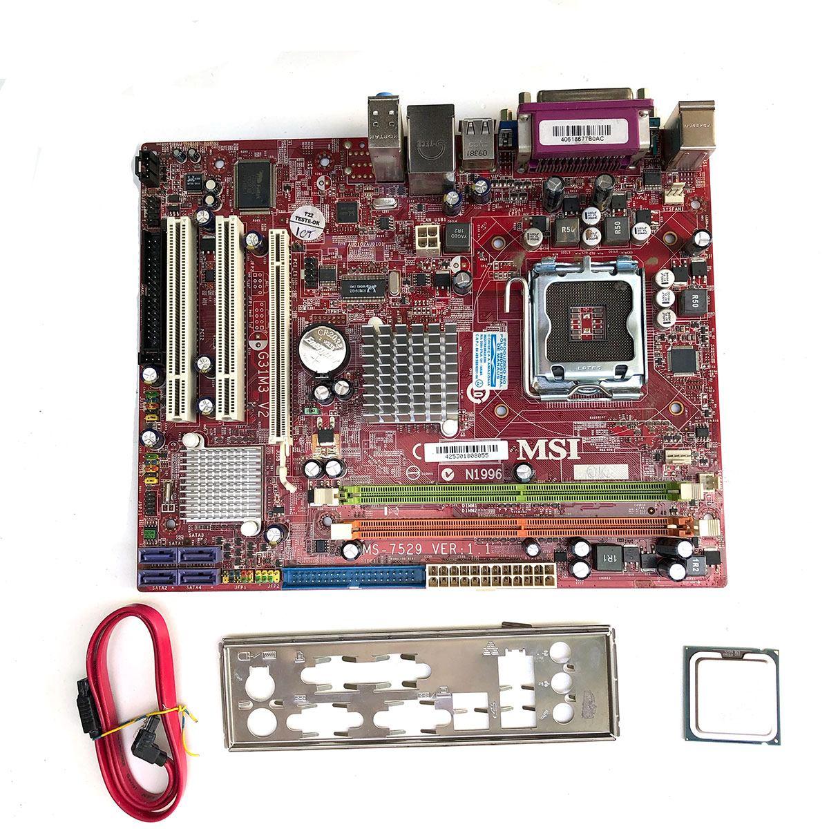 MSI G31M3-F V2 (3 Audio Ports) Drivers for PC
