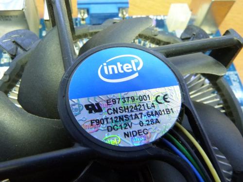 kit placa mãe processador e memoria intel 1155 envio em 24hs