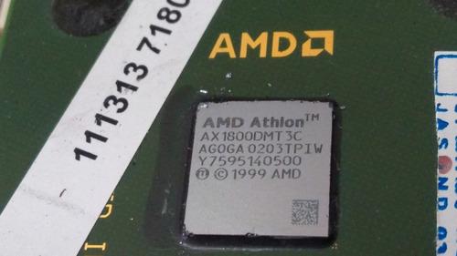 kit placa mãe socket 462 + processador athlon  1800 + esp.