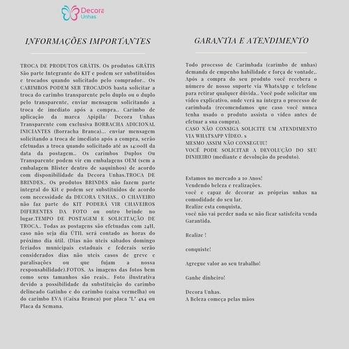 kit placas e carimbo unicórnio sereia grátis carimbo+esmalte