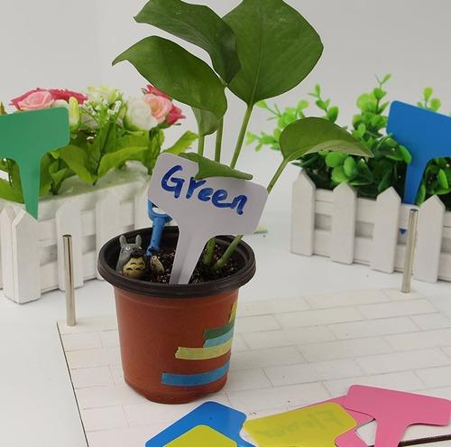 kit placas para identificar plantas flores jardins temperos