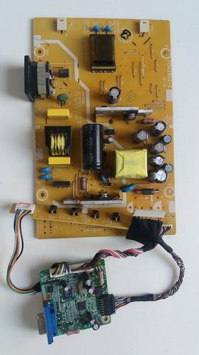 kit placas + teclado + lvds monitor aoc 519sw