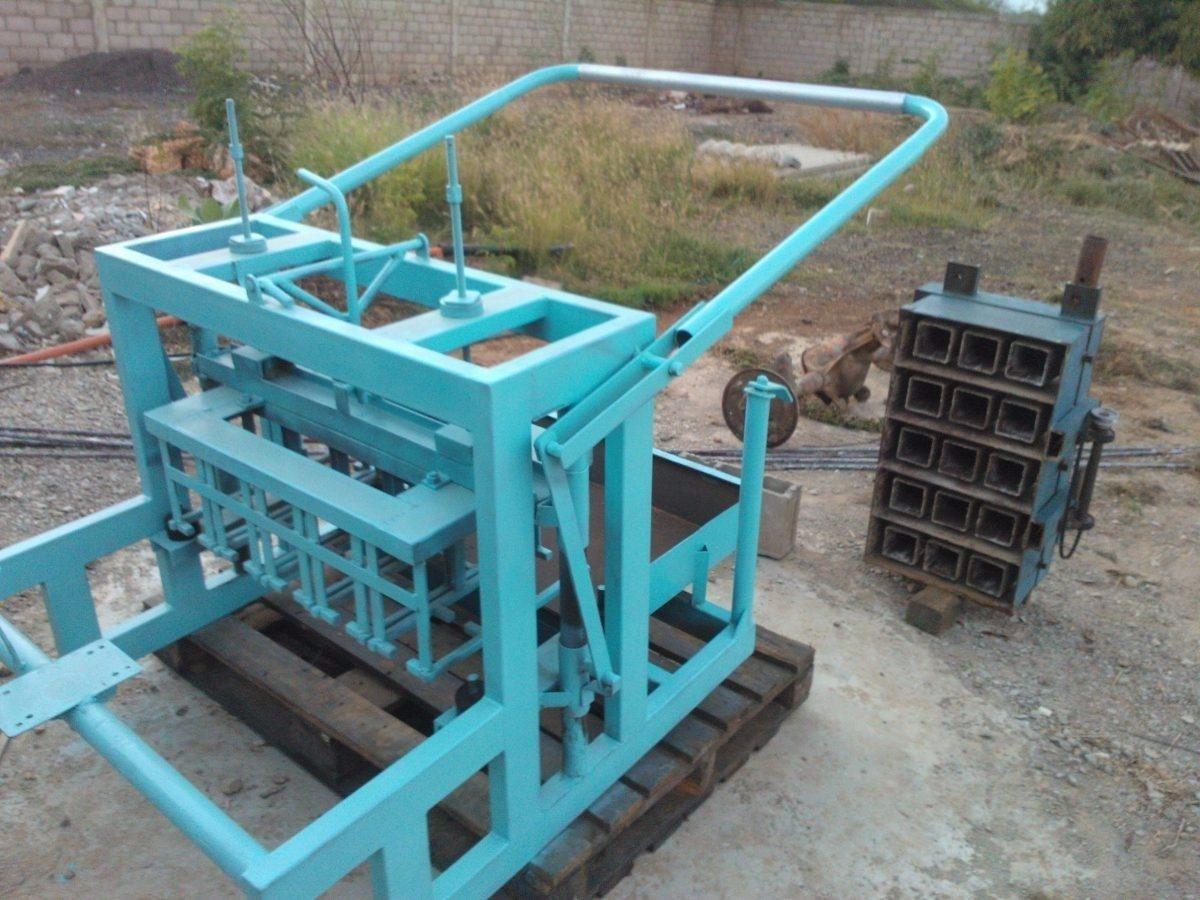 Kit planos de maquina para hacer bloques de concreto 10 y for Cuanto sale hacer una piscina de cemento