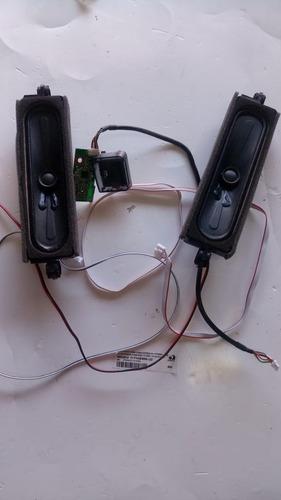 kit plaq werelis+sensor+par altofalants/tv philco ptv 4360sn