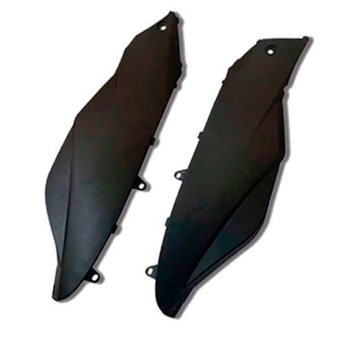 kit plástico  honda biz 125 es ks + ano 2006 até 2010  preto