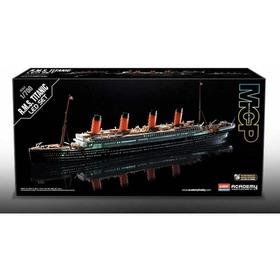 Kit Plástico Mpc - R M S Titanic - Com Luzes De Led - 1:700