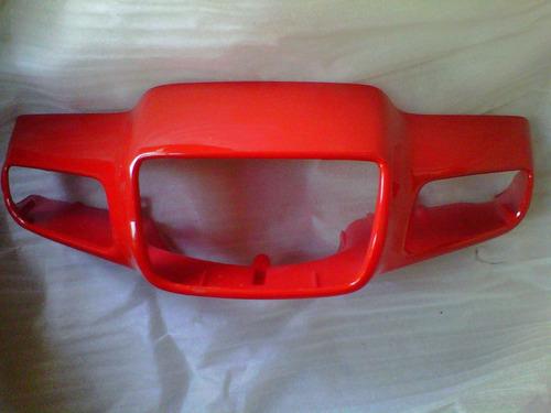 kit plasticos guerrero flash 110  rojo - 2r