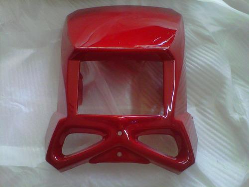 kit plasticos guerrero gxr 200 tundra rojo con blanco - 2r