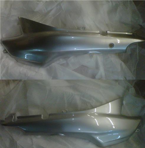 kit plasticos guerrero trip 110 gris 11 piezas con repuestos