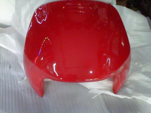 kit plasticos guerrero trip tunning 110cc rojo - 2r