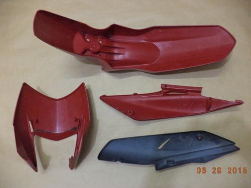 kit plasticos honda nxr bros 125 / 150 - usado original