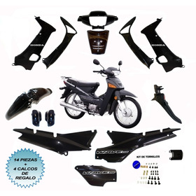 Kit Plasticos Honda Wave + Tornillos + Calcos Regalo Cuotas