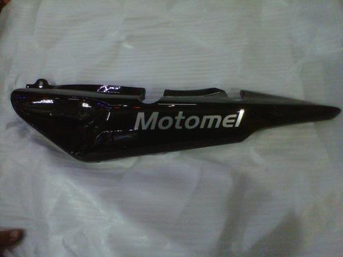 kit plasticos motomel cg150 serie 2 negro - 2r